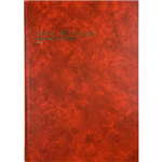 COLLINS 3880 SERIES ACCOUNT BOOK 4 MONEY COLUMN 84 LEAF A4 RED