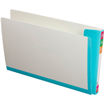 AVERY 165715 FULLVUE SHELF LATERAL FILE 30MM GUSSET LIGHT BLUE TAB AND SPINE FOOLSCAP BOX 100