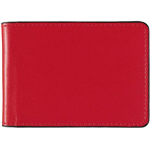 DEBDEN ACCENT BUSINESS CARD HOLDER 24 SLOT RED