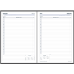 DEBDEN 2022 DAYPLANNER EXECUTIVE EDITION REFILL DAY TO PAGE