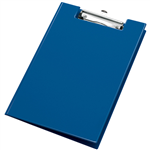 BANTEX CLIPFOLDER PVC A4 BLUEBERRY