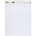 POSTIT 560 SUPER STICKY GRID EASEL PAD WHITE