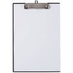 MARBIG CLEARVIEW CLIPBOARD WITH INSERT COVER A4 BLACK