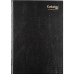 CUMBERLAND 2021 CASEBOUND 2 PAGES TO DAY 15 MINUTE A4 BLACK  sold out