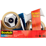 SCOTCH BPS1 TAPE DISPENSER AND TAPE PACK 2 ROLLS