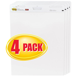 POSTIT 559VAD SUPER STICKY EASEL PAD WHITE PACK 3 PLUS 1 BONUS