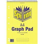 SPIRAX 582 GRAPH BOOK 2MM GRID 30 PAGE A4