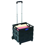 MARBIG TROLLEY COLLAPSIBLE STORAGE 25KG CAPACITY