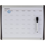 QUARTET ARC CALENDAR BOARD 280 X 360MM
