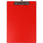 BANTEX CLIPBOARD PVC A4 RED