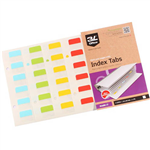 3L INDEX TAB 12 X 25MM ASSORTED PACK 72