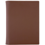 DEBDEN COMPENDIUM A4 PU FASHION CHOCOLATE