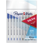 PAPERMATE INKJOY 100 BALLPOINT PENS MEDIUM ASSORTED BOX 10