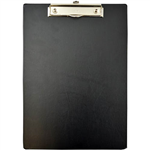 BANTEX CLIPBOARD PVC A4 BLACK