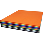 RAINBOW COVER PAPER 125GSM 380 X 510MM ASSORTED PACK 500