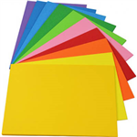 RAINBOW COVER PAPER 125GSM A3 10 COLOUR 2 ASSORTED PACK 250