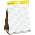 POSTIT 563 TABLETOP PRIMARY RULED EASEL PAD 508 X 584MM