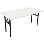 RAPIDLINE FOLDING TABLE 1500 X 750MM NATURAL WHITE