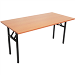RAPIDLINE FOLDING TABLE 1800 X 750MM BEECH