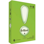 BRILLIANT A4 COPY PAPER 80GSM WHITE PACK 500 SHEETS