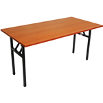 RAPIDLINE FOLDING TABLE 1800 X 900MM CHERRY