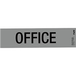 APLI SELF ADHESIVE SIGN OFFICE 50 X 202MM GREYBLACK