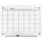 QUARTET INFINITY GLASS CALENDAR BOARD 600 X 900MM