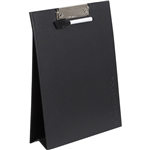 COLOURHIDE MY STANDUP CLIPBOARDWHITEBOARD A4 BLACK