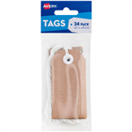 AVERY 13200 TAGIT WITH STRING SIZE 3 KRAFT BROWN PACK 24