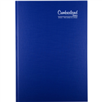 CUMBERLAND 2021 PREMIUM BUSINESS DIARY 2 DAYS TO PAGE 1 HOUR A4 BLUE
