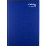 CUMBERLAND 2021 PREMIUM BUSINESS DIARY DAY TO PAGE 30 MINUTE A5 BLUE