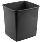 ITALPLAST TIDY BIN 15 LITRE SPACE GREY