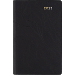 COLLINS 2021 BELMONT POCKET DIARY WEEK TO VIEW 1 HOUR A7 BLACK