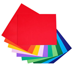 QUILL BOARD 210GSM 510 X 635MM ASSORTED PACK 50