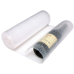 SEALED AIR AIRLITE CONSUMER BUBBLE WRAP NON PERFORATED ROLL 350MM X 3M CLEAR