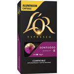LOR ESPRESSO COFFEE PODS SONTUOSO BOX 10