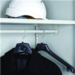 GO CUPBOARD SHELF WITH COAT RAIL