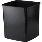 INITIATIVE TIDY BIN 15 LITRE BLACK
