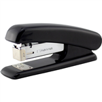 INITIATIVE PLASTIC HALF STRIP STAPLER BLACK