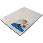 RAINBOW PARCHMENT BOARD A4 180GSM WHITE PACK 50