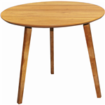 ARBOR EXECUTIVE ROUND MEETING TABLE 850MM AMERICAN OAK