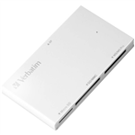 VERBATIM 4IN1 USB30 CARD READER WHITE