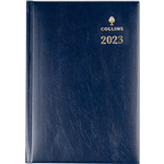 COLLINS 2021 STERLING DIARY WEEK TO VIEW 1 HOUR A5 NAVY BLUE