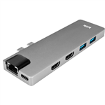 KLIK MACBOOK DUAL USBC MULTIPORT ADAPTER