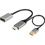 KLIK HDMI MALE TO DISPLAYPORT FEMALE ADAPTER