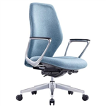 ASSIST EXECUTIVE MIDBACK SEAT WITH ARMS SYNCHRO MECHANISM LOCALLY UPHOLSTERED