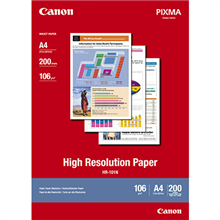 CANON HIGH RESOLUTION PHOTO PAPER 106GSM A4 PACK 200